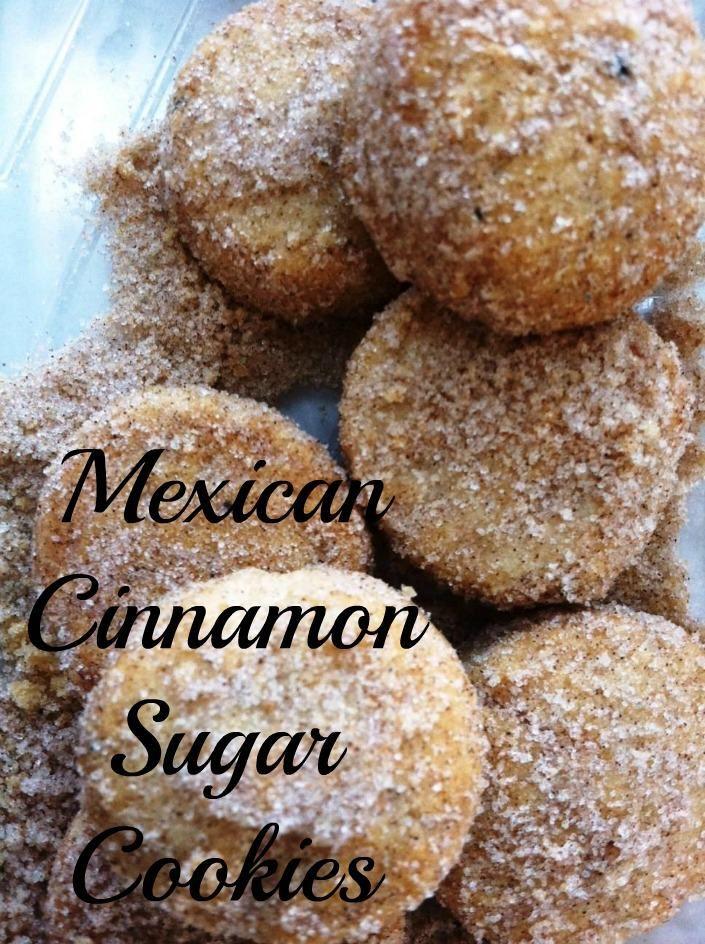 Mexican Cinnamon Sugar Cookies Or Polvorones De Canela Are A Traditional Christmas Cookie In Mexico