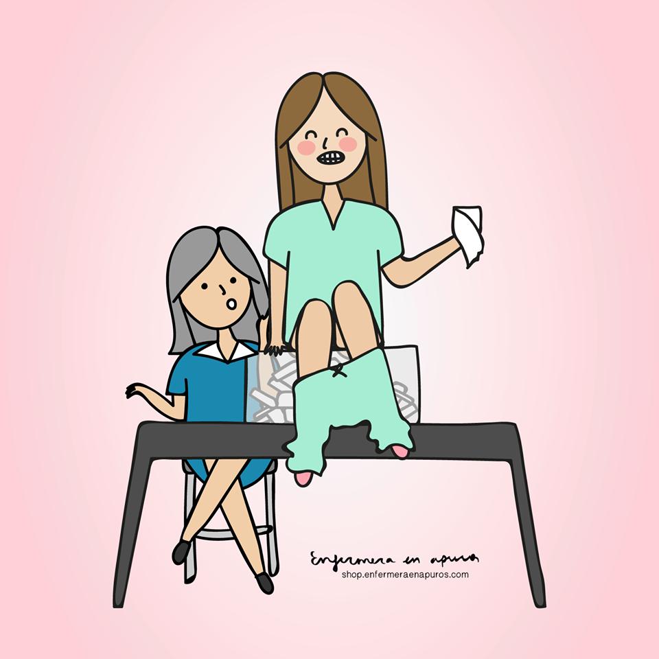 Enfermera En Apuros Nurse Character Family Guy