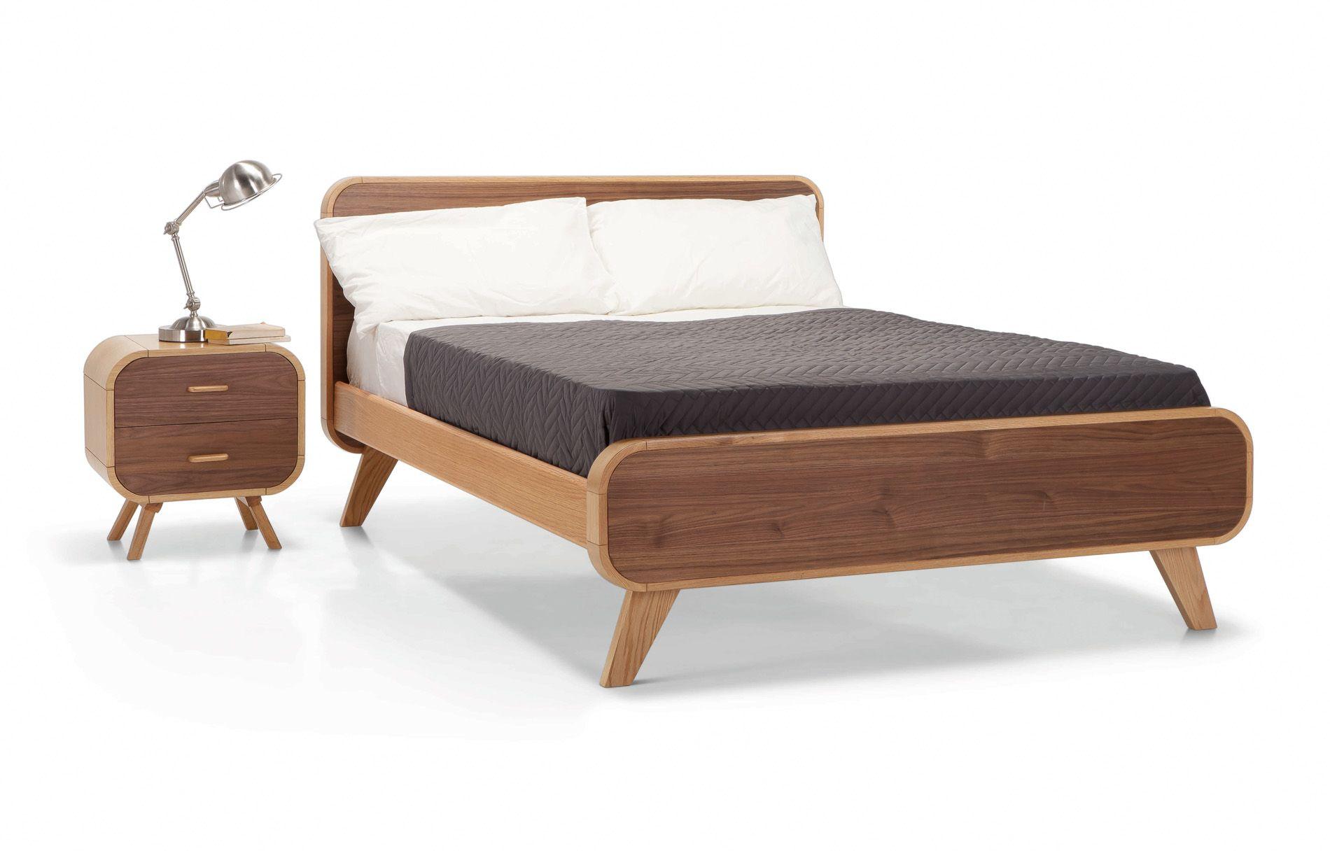 Fonteyn Double Bed From 649 Steuart Padwick Minimalist Bed Frame Minimalist Bed Bed Frame Design