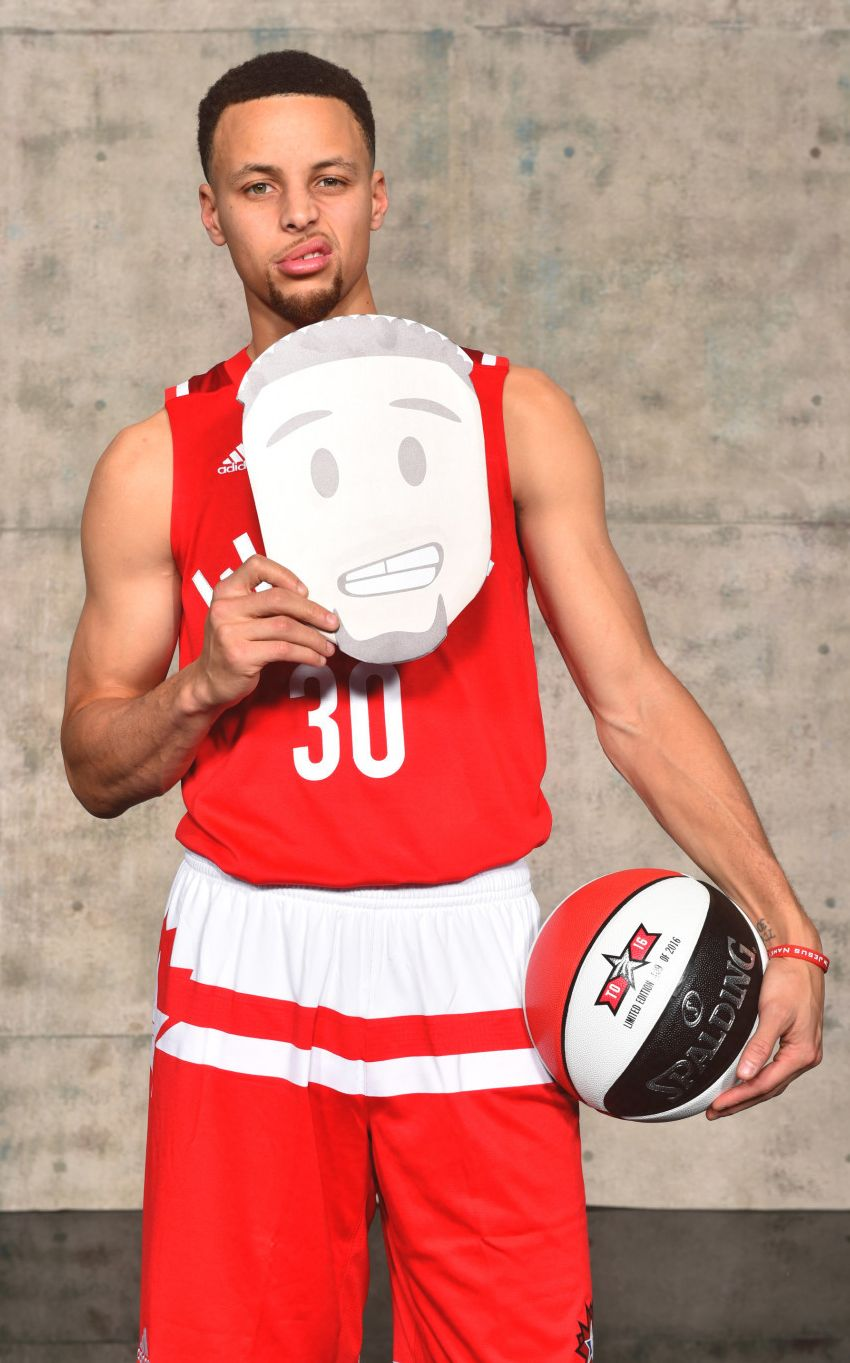"""""""Stephen Curry 2016 NBA All Star game photoshoot"""