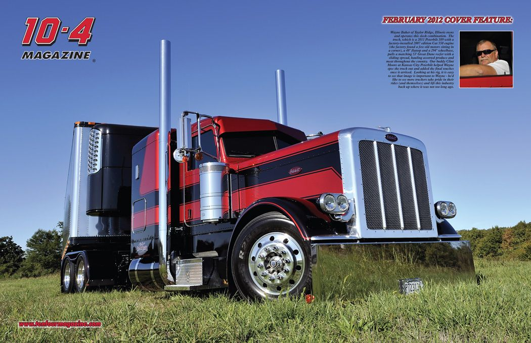 Trucking Big Rig Trucks Big Trucks Peterbilt 389