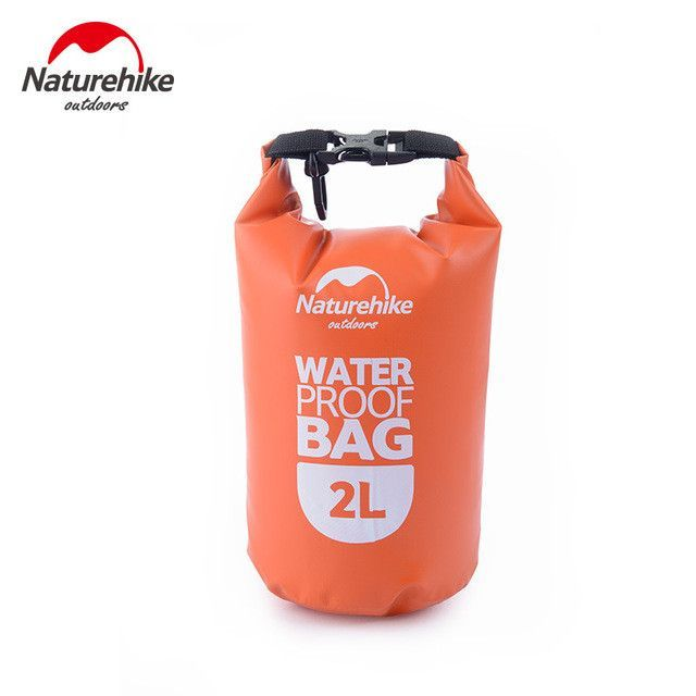 NatureHike 2L 5L High Quality Outdoor Waterproof Bags Ultralight Camping  Hiking Dry Organizers Drifting Kayaking Swimming b240f02d42969
