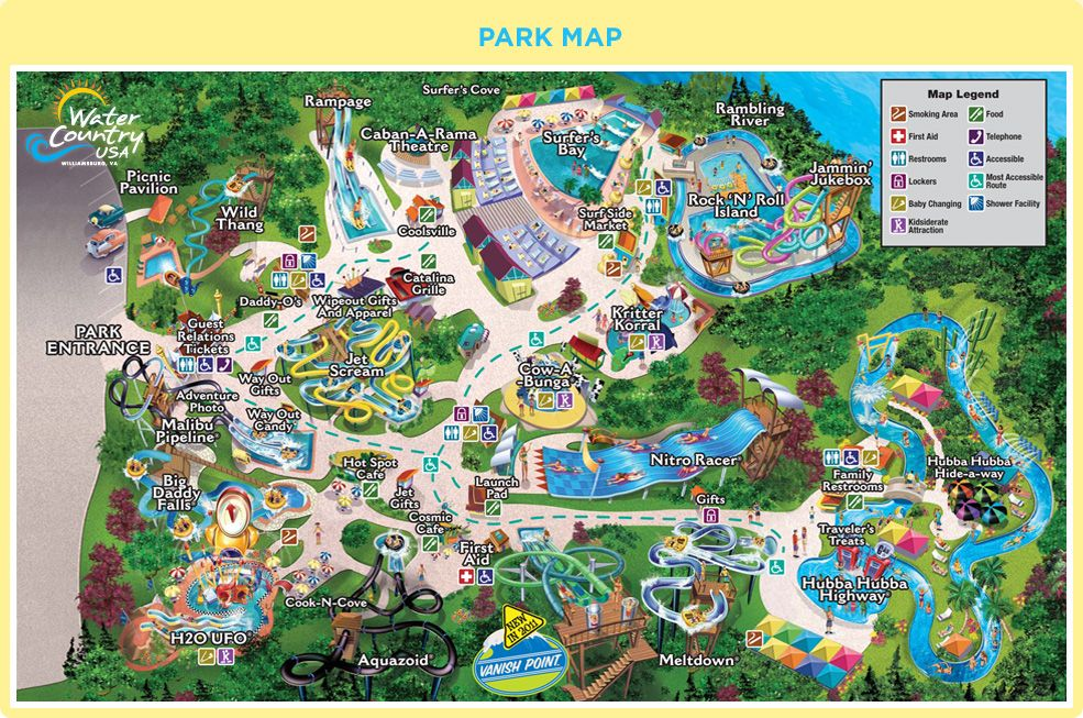 Water Country USA Why didnt they have these parks when I was a