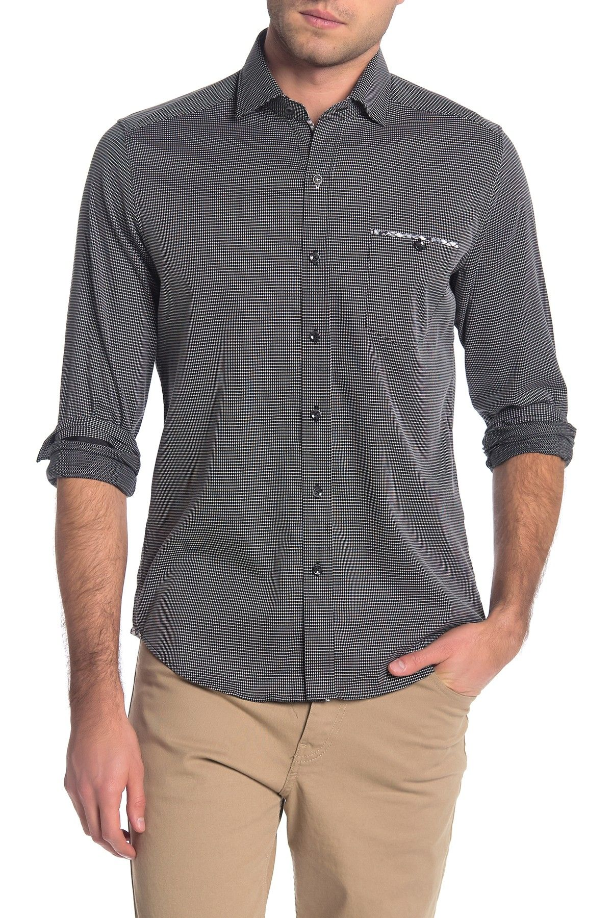 Robert Graham  Kareen Long Sleeve Tailored Fit Shirt in 7