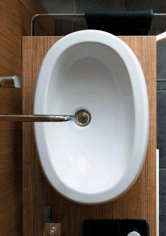 BAGNO MANSARDA Pozzi-Ginori lavabo Egg 60 | home in progress ...