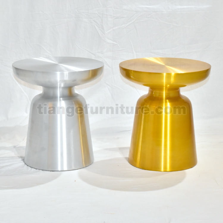 Gold Brass Martini Side Table In 2020 With Images Side Table Stainless Steel Coffee Table Steel Coffee Table
