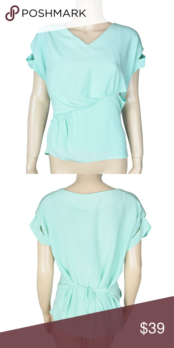 c234a11edf2 Line  amp  Dot Teal Aqua Tunic Top Shirt Only 1 left!   Features