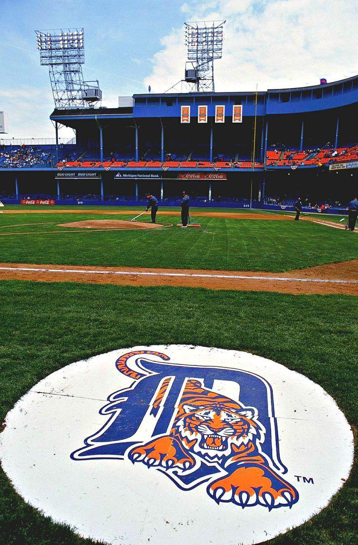 Tiger Stadium Detroit tigers baseball, Detroit tigers