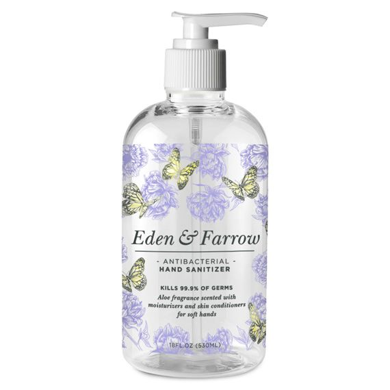 Eden And Farrow Hand Sanitizer Fragrance Moisturizer