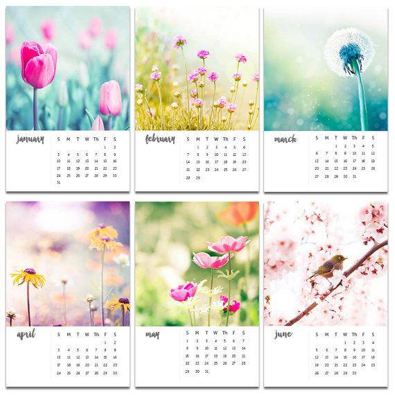 2016 calendar floral photography calendar by mylittlepixels