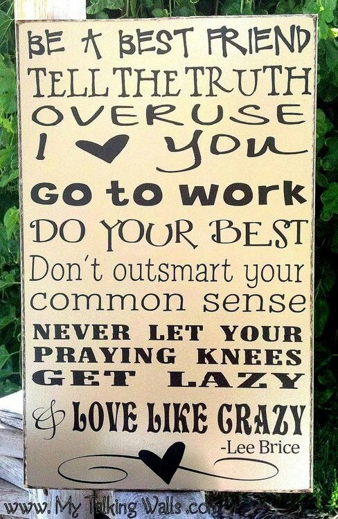 Never let your prayin knees get lazy
