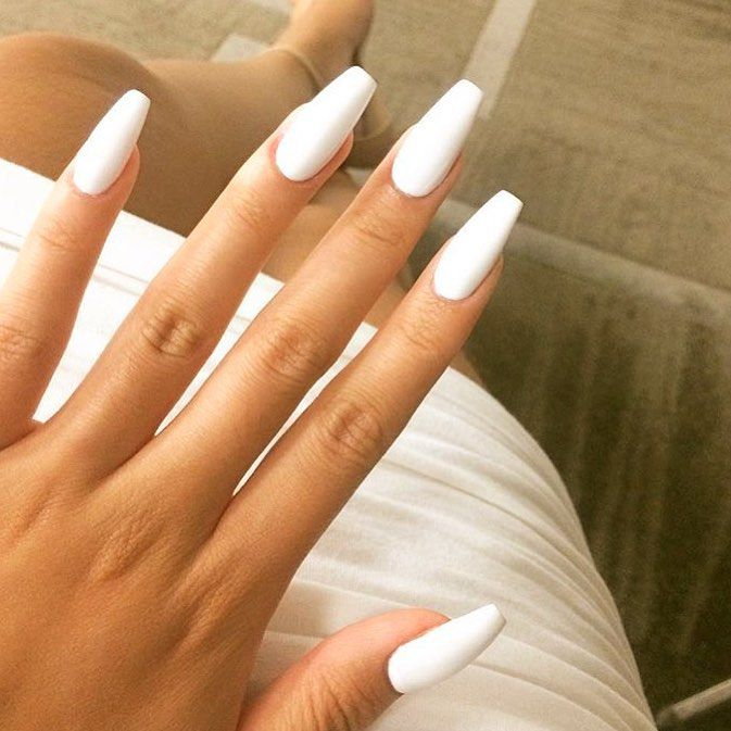 Coffin Ballerina Nail Perfection Summer Nails Beautyinthebag