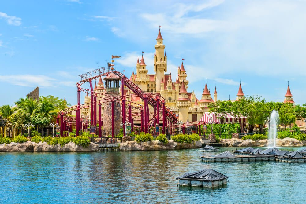 Construction Has Begun On A 7 Billion Dollar Universal Studios Theme Park In Beijing As Bachelorette Weekend Getaway Bachelorette Weekend Singapore Itinerary