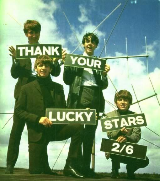 beatles thank Your Lucky Stars 2