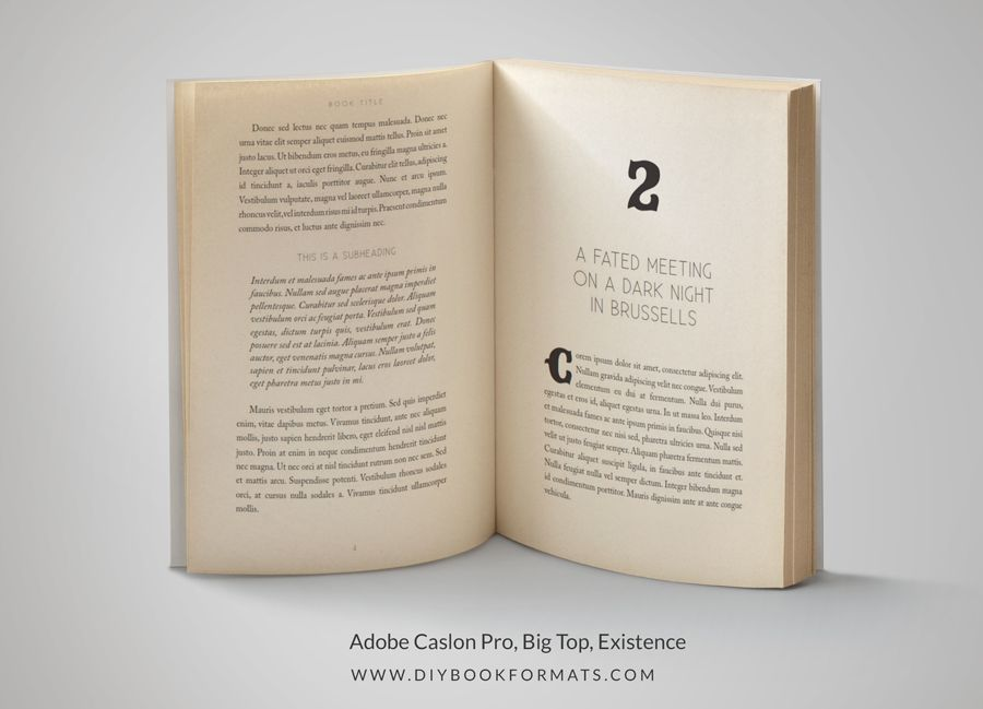 How to format a book for print DIY book design for indie authors - free training templates