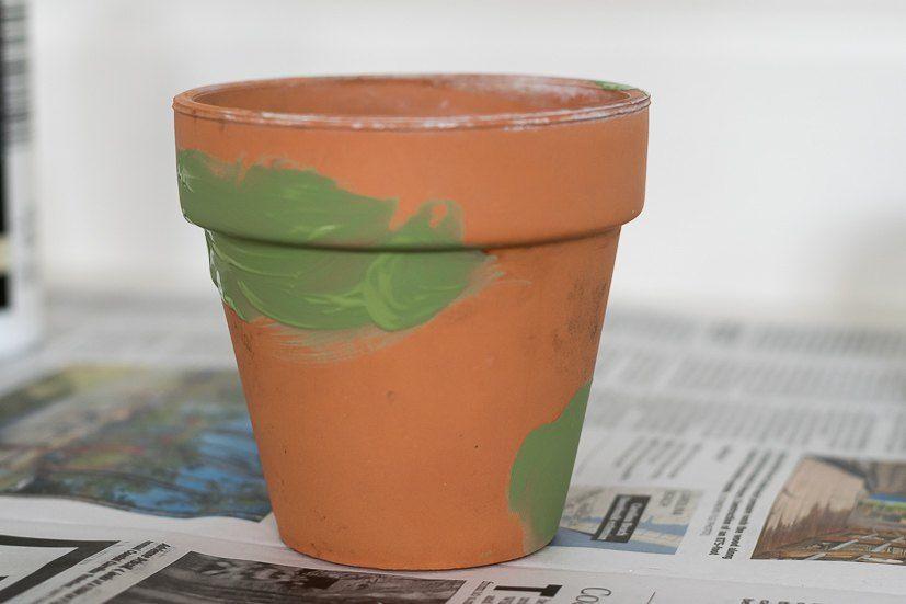 Diy Mossy And Aged Terra Cotta Pots Terracotta Pots Clay Pots Terracotta