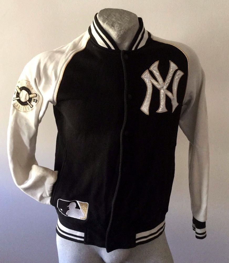 uk availability 59e4f 4a39c Maglia New York Yankees Cooperstown majestic giacca felpa ...