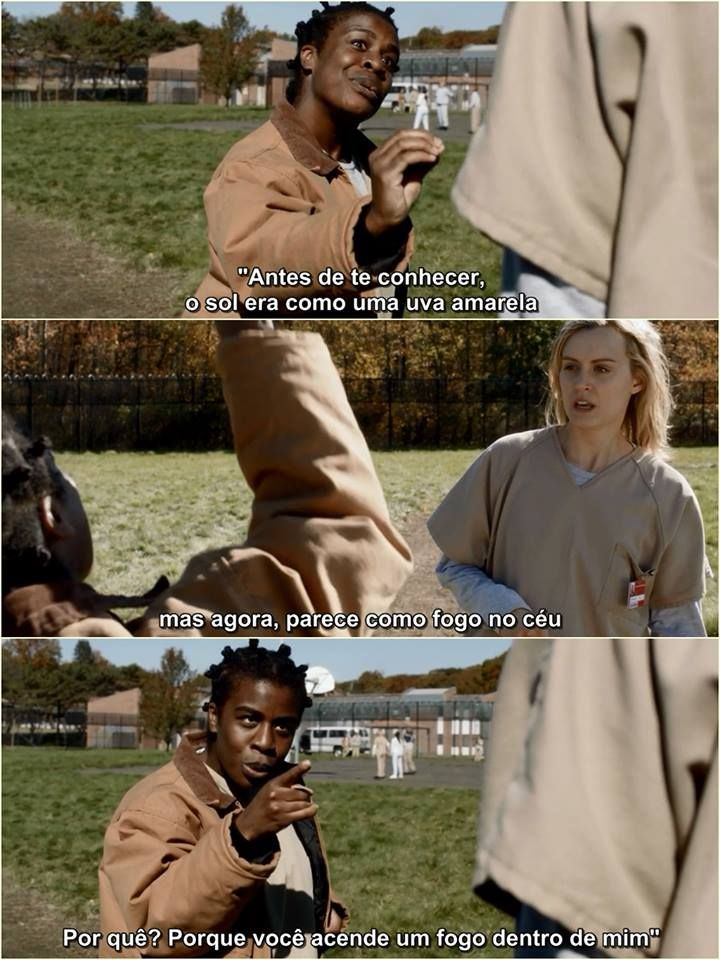 Orange Is The New Black Com Imagens Legendas De Filmes Frases