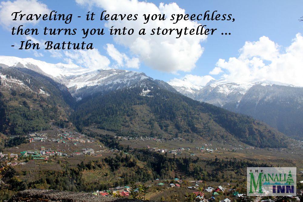 Visit Manali Travel Quotes Travel Quotes Travel Quotes