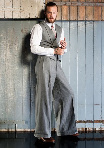 20th Century Chap Vintage Style Menswear 1930s Mens Fashion