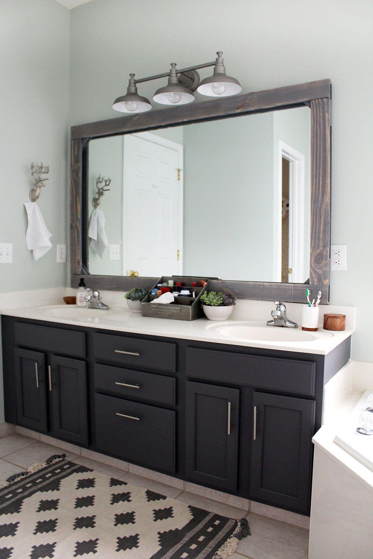 Master Bathroom Update On A 300 Budget Bathroom Remodel Master