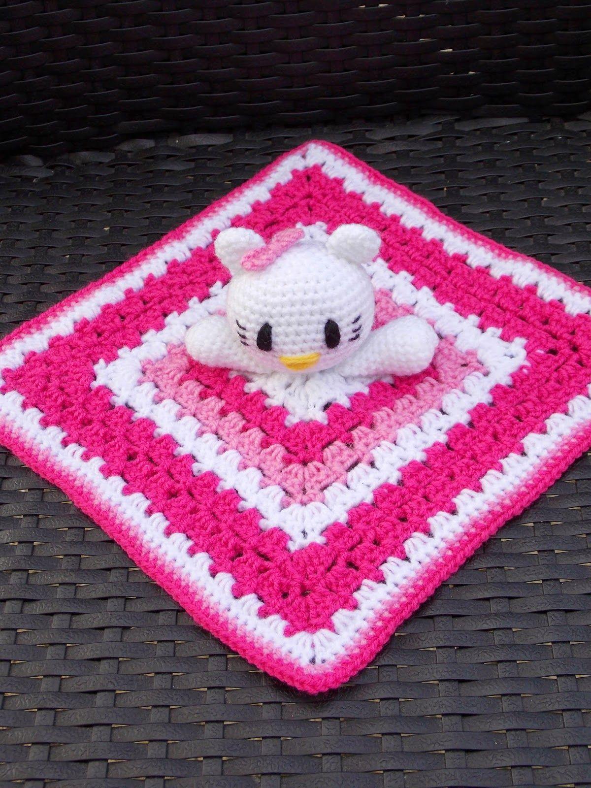 Patroon Hello Kitty Knuffeldoekje Nederlands Haken Hello Kitty