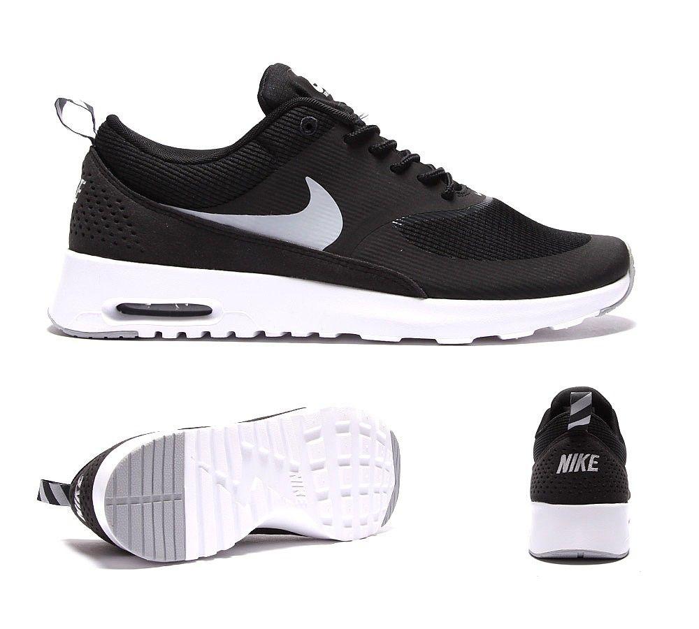 Nike Air Max Thea Pied Vente Dasile Noir