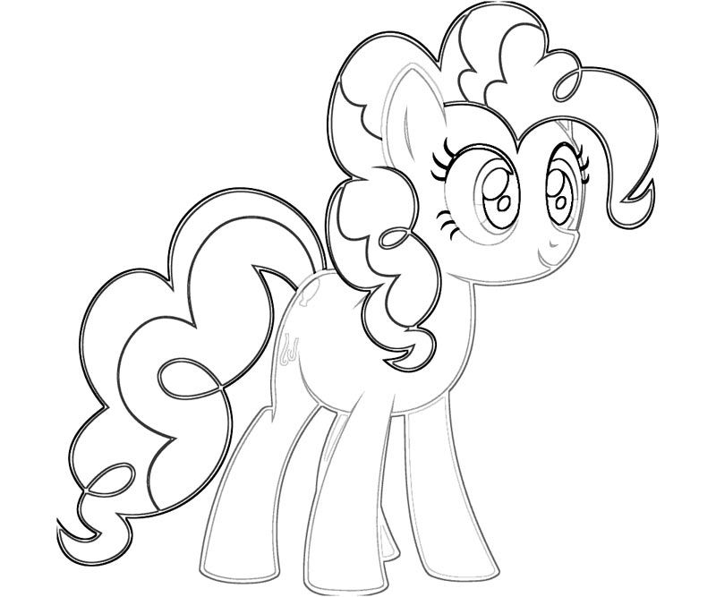 Pinkie Pie Coloring Pages Coloring Pages Coloring Pages For