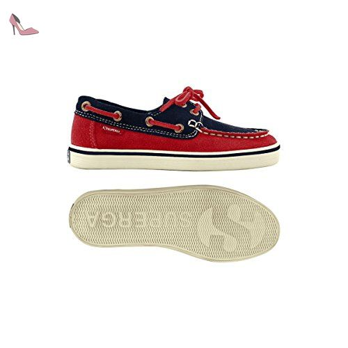 2750- COBINU, Chaussures femme - Rouge - Rouge (Rot/Red), 35 EU (2.5 UK)Superga