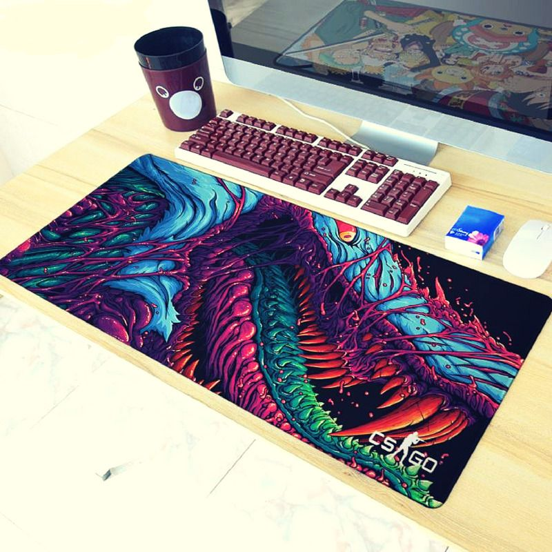 Details about new mouse pad hyper beast overlock edge