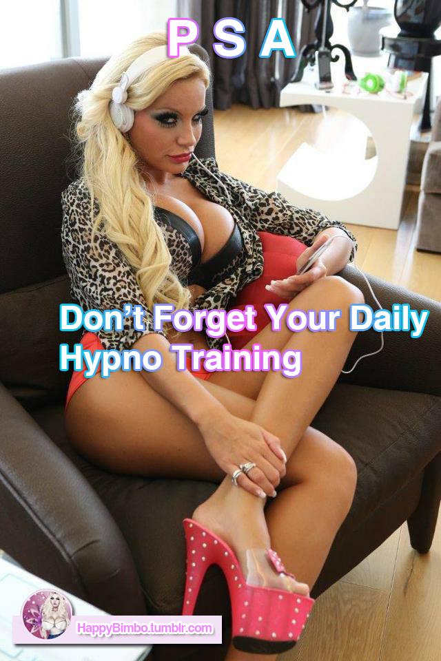 Bimbo Hypnosis Training