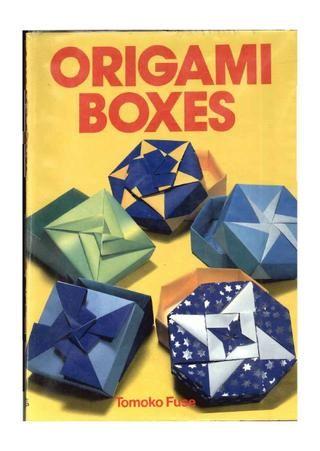tomoko fuse origami boxes origami boxes origami and box rh pinterest com