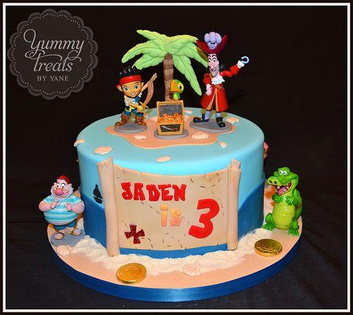 Jake and the neverland pirates Birthdays Cake and Pirate birthday