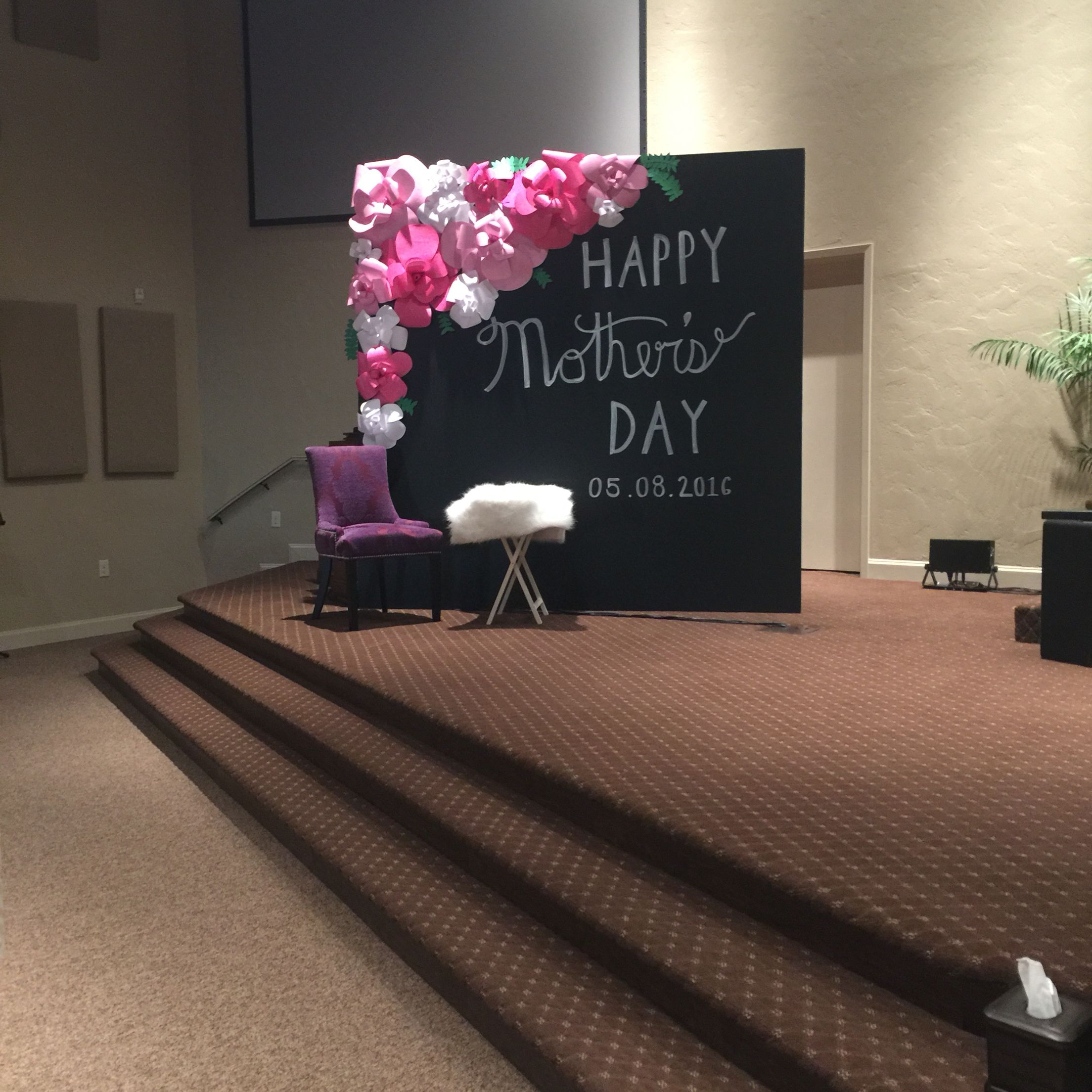 Mothers Day Church Stage Design 2016 Mother S Day Diy