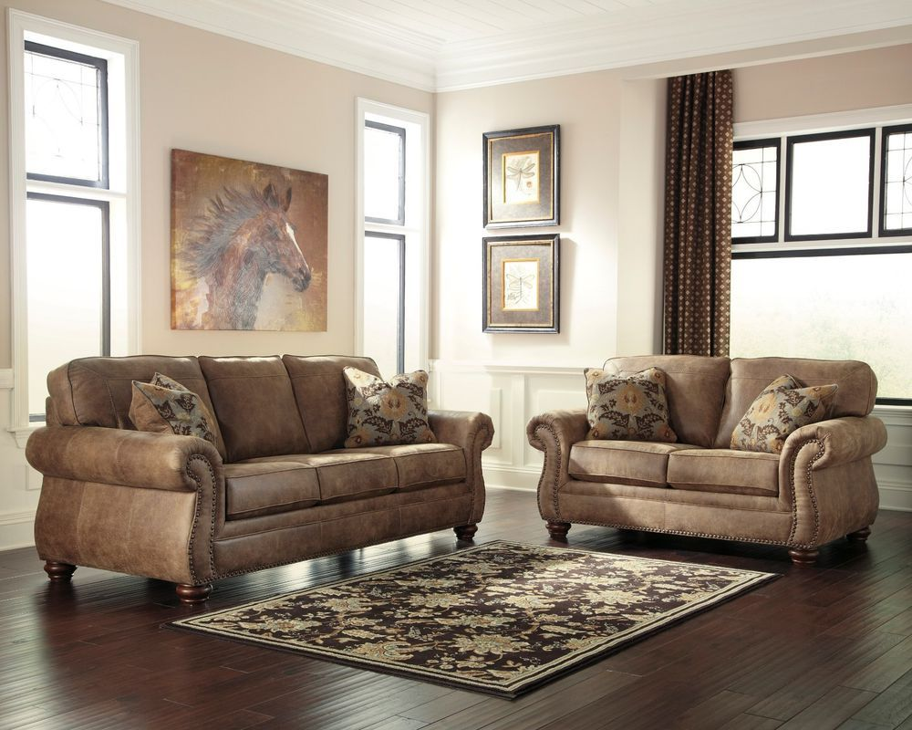 New Ashley 31901 Larkinhurst Earth Color Traditional Couch