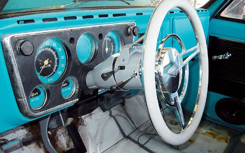 1972 Chevy Truck Dash Painted