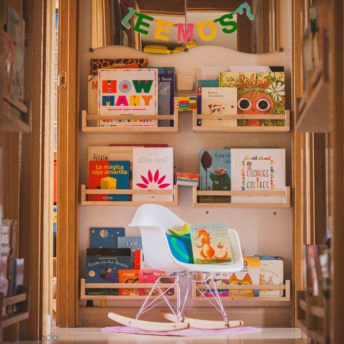 Oui oui rincon de lectura bebes guinalda letras for Decoracion habitacion infantil montessori