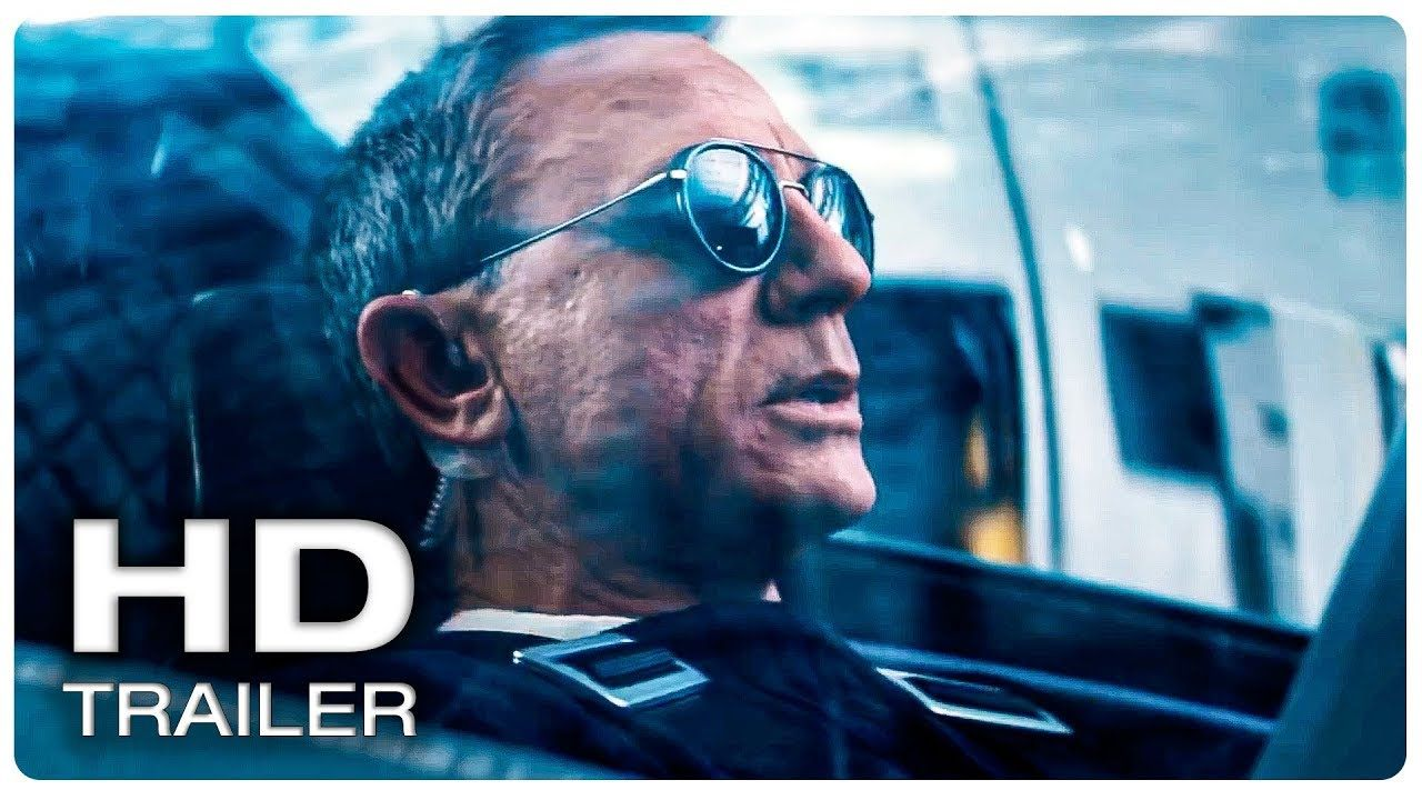 james bond 007 no time to die trailer #2 official (new