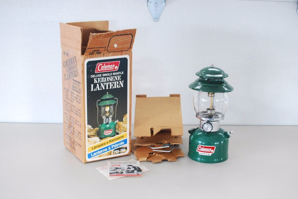 Details about Coleman 201-700 Deluxe Single Mantle Kerosene