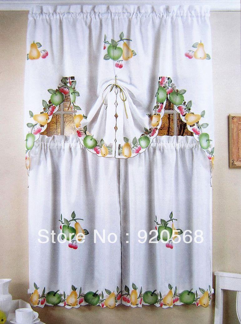 Cocina lencer a para ba os cocinas cortinas for Cortinas cortas