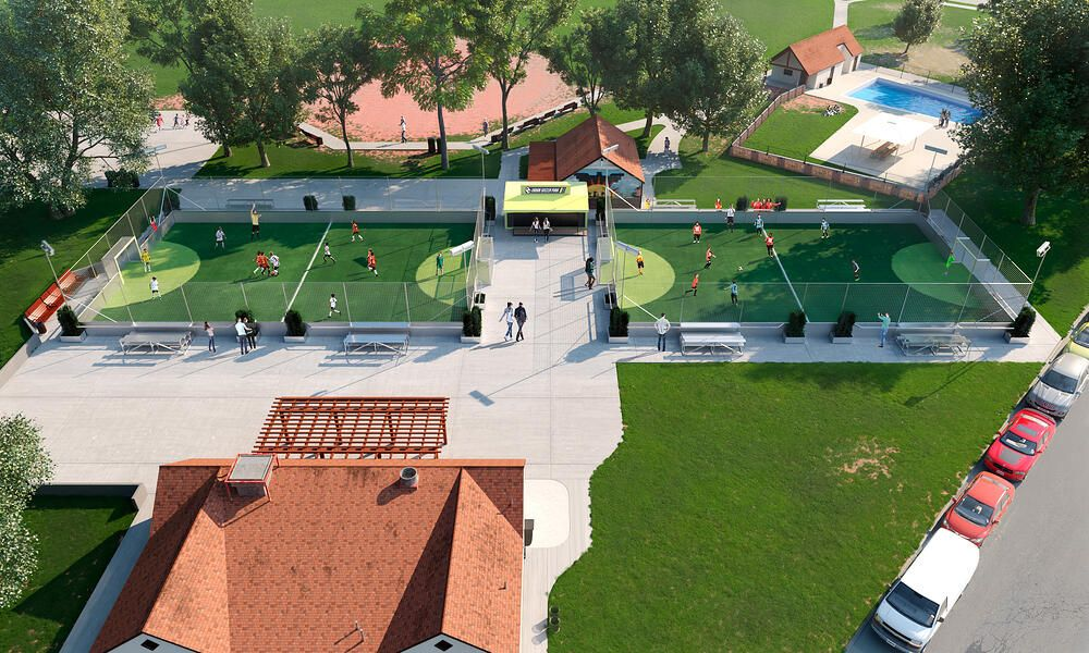 Park And Rec Community Park Soccer Parking Design