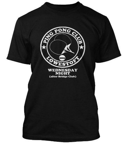 Darkness Ping Pong Friday Night Permission To Land T Shirt Mens