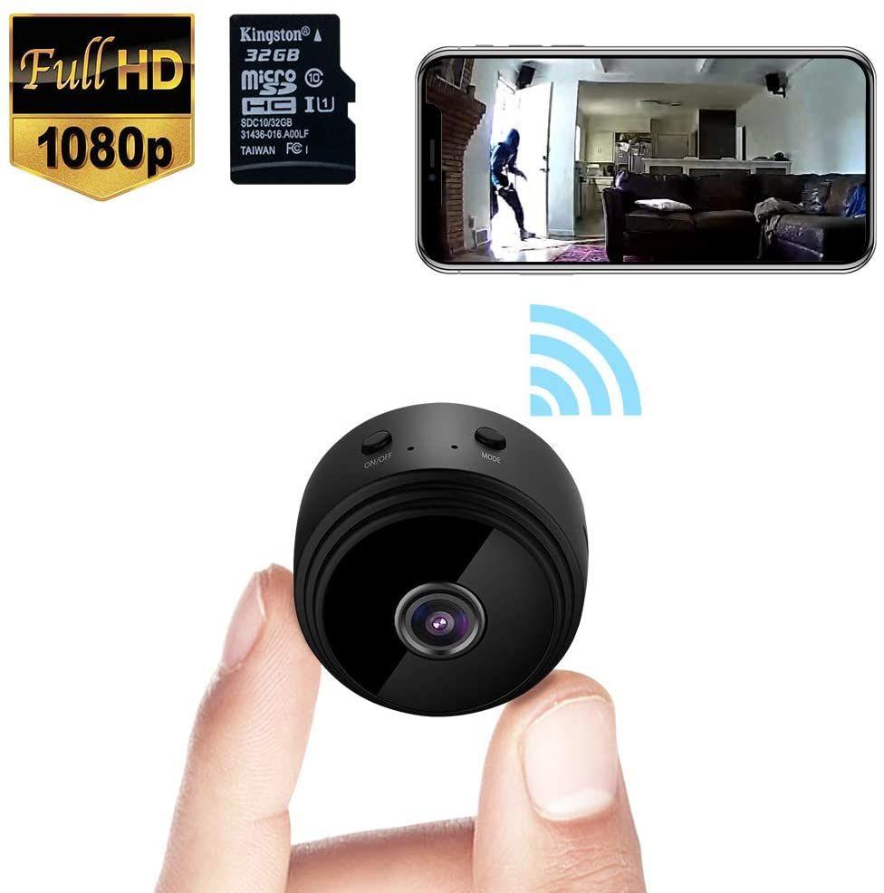 Hidden Surveillance Cameras In 2020 Security Cameras For Home Spy Camera Mini Spy Camera