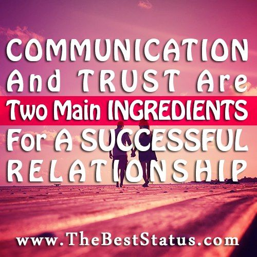 wow communication, who knew?