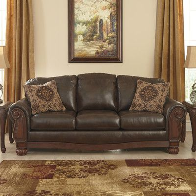 Benchcraft Rodlann Sofa Luxury Sofa Faux Leather Sofa Sofa