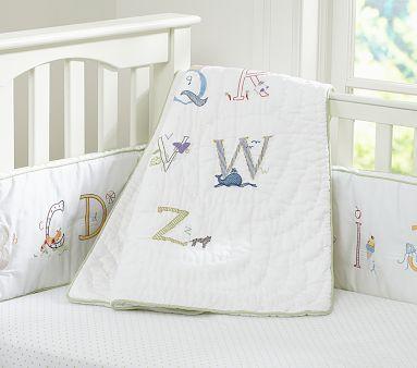 Abc Nursery Bedding Pbkids