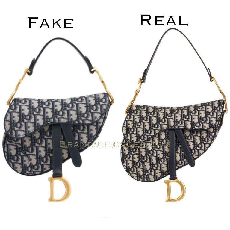 How To Spot A Fake Christian Dior Saddle Bag - Brands Blogger in 2021 | Dior saddle bag, Dior, Bags