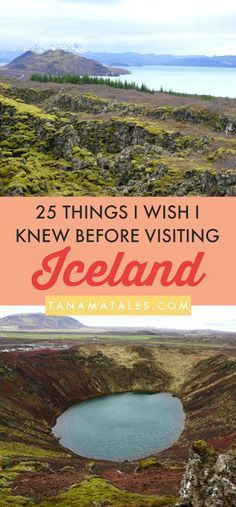 25 things I wish I knew before visiting Iceland – Tanama Tales