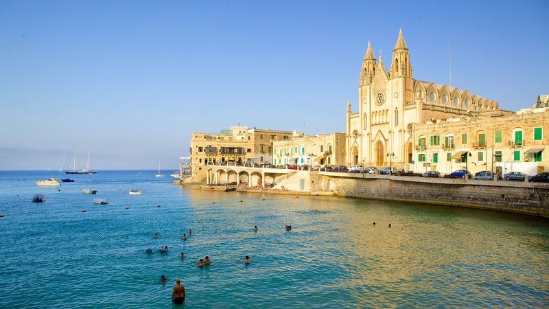 Balluta Bay Pictures: View Images of Balluta Bay, Malta | Expedia | Europe  vacation, European vacation, Cheap vacation packages