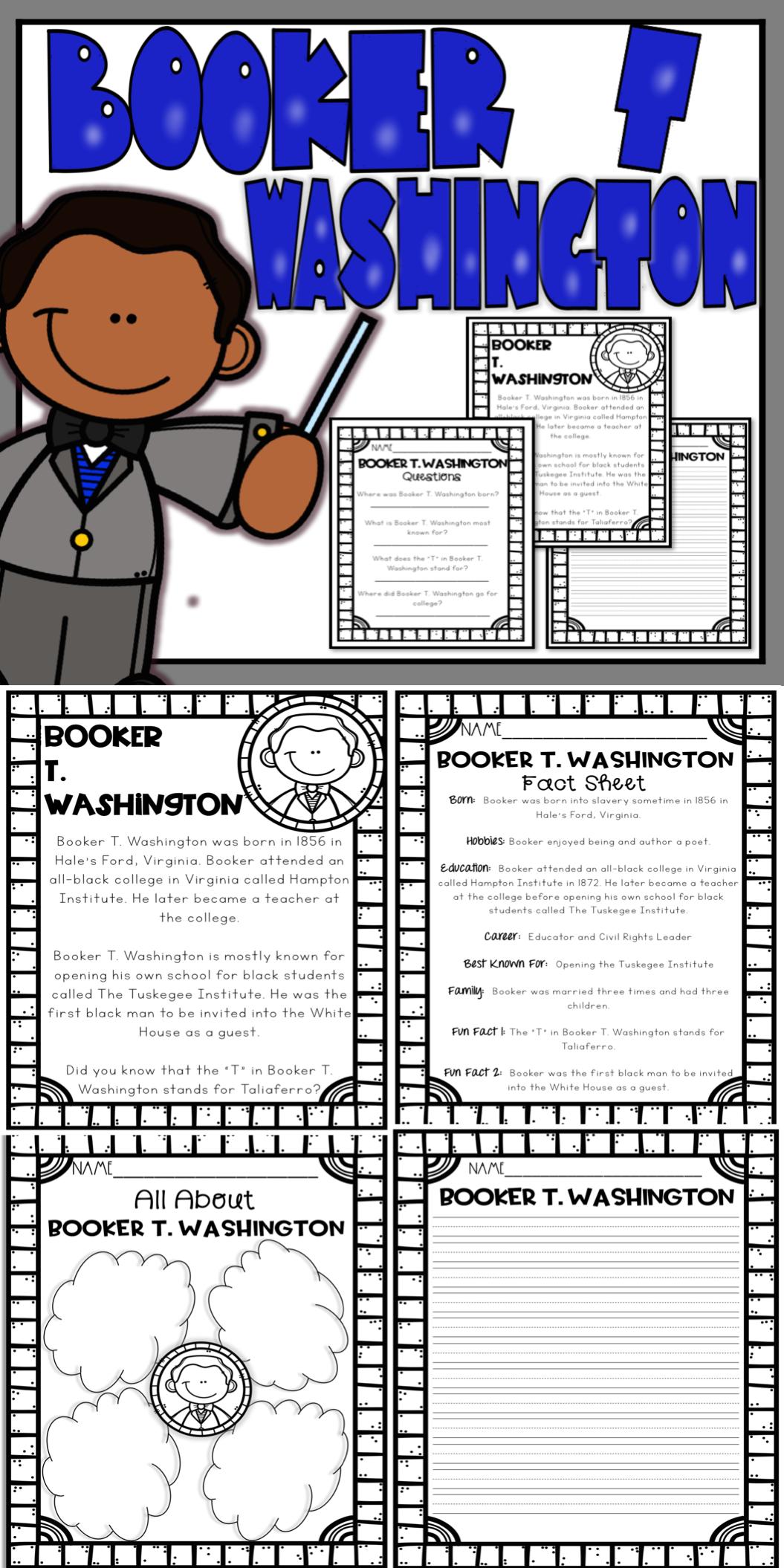 Booker T Washington Activities